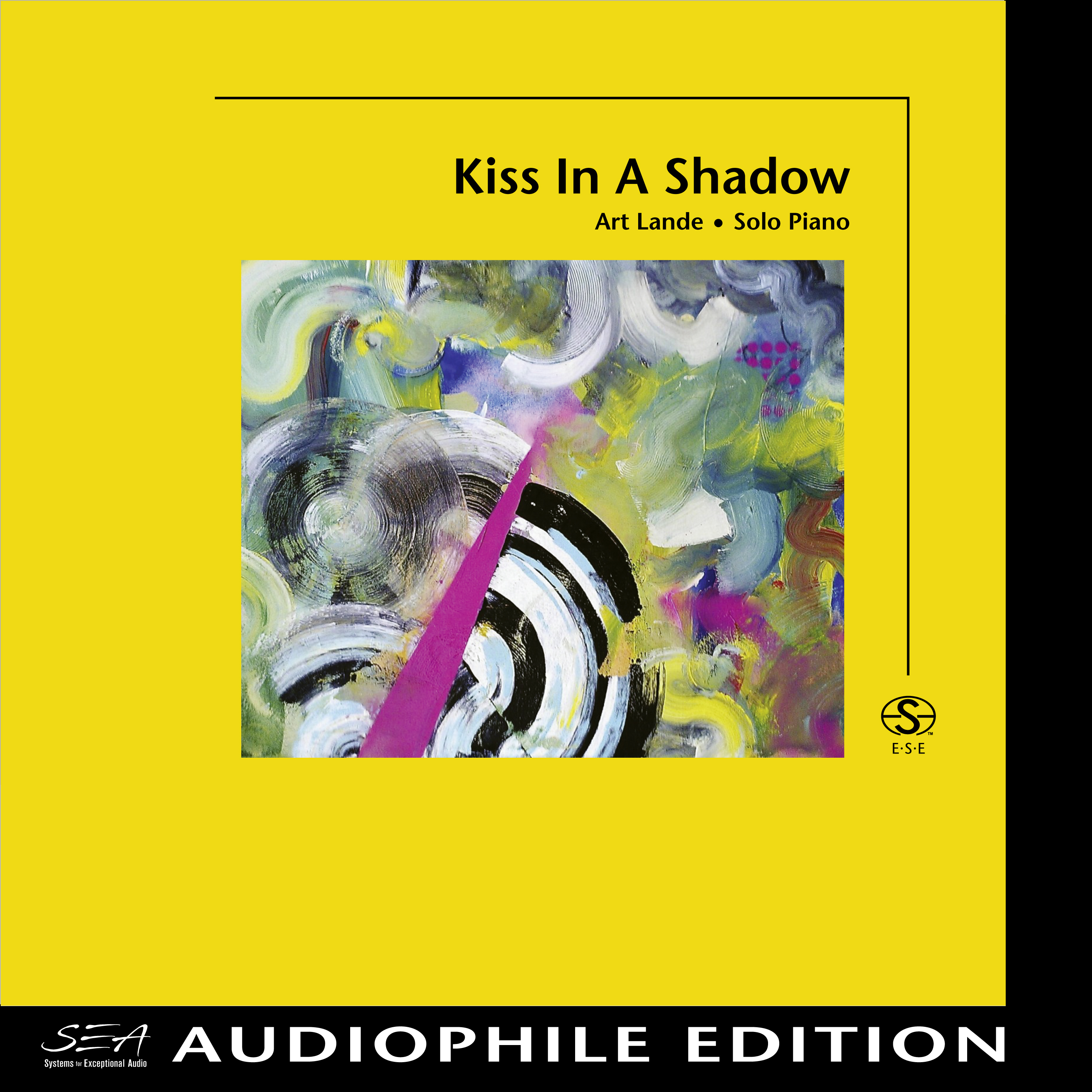 Art Lande - Kiss In A Shadow - Cover Image