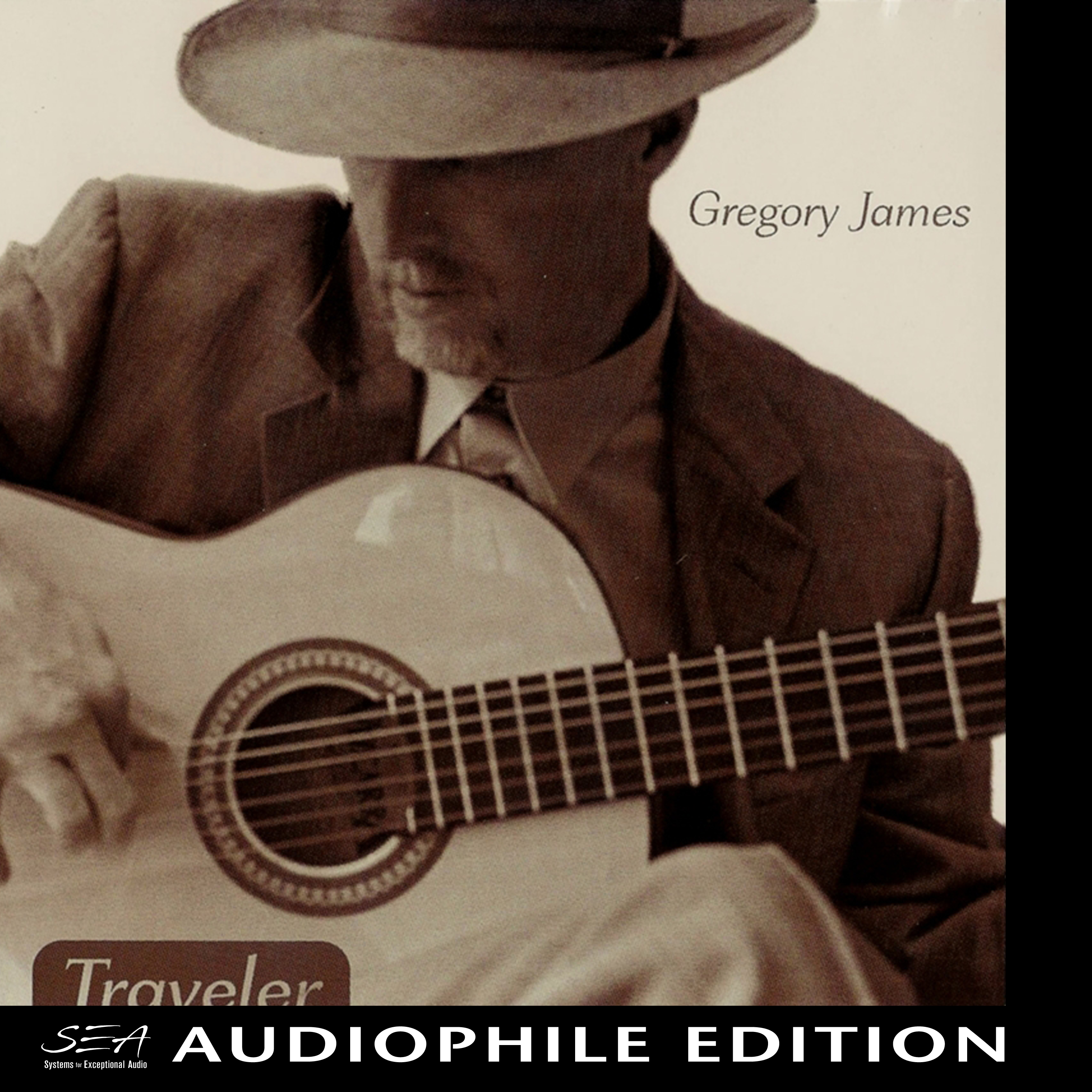 Gregory James - Traveler - Cover Image