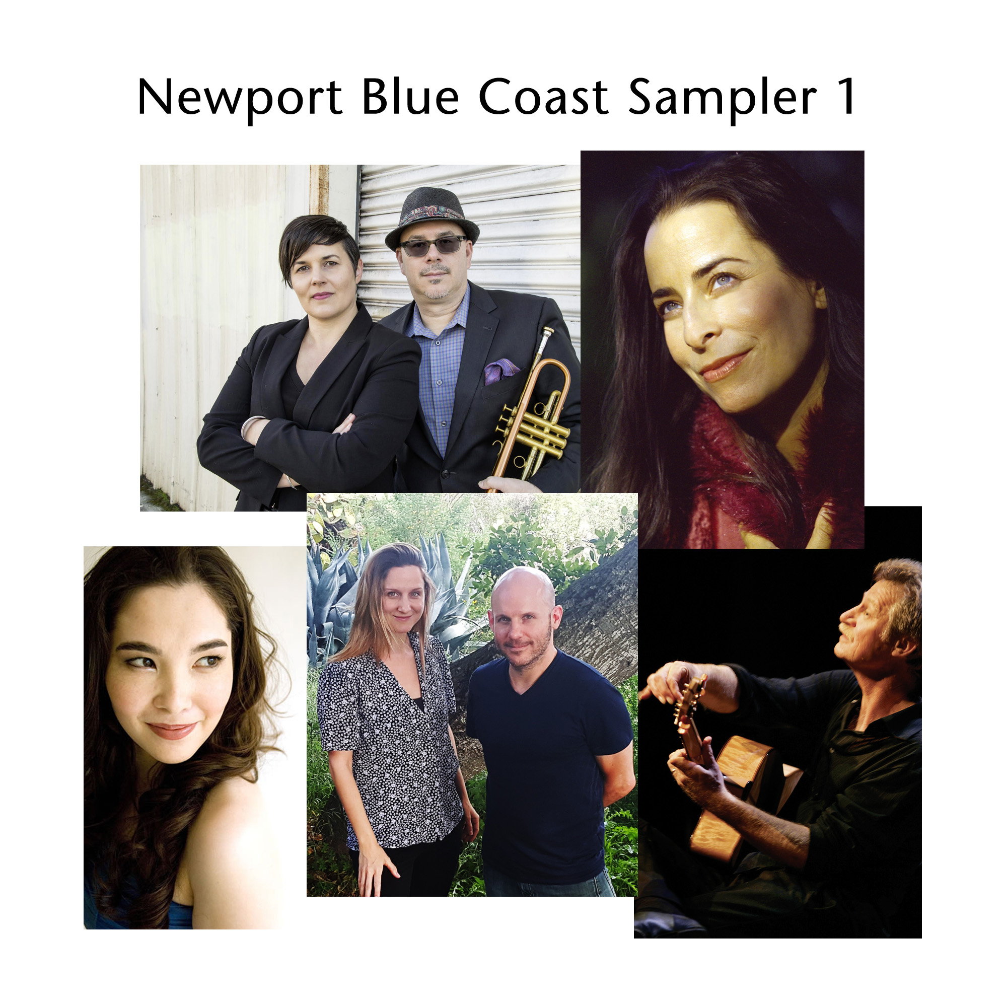 Newport Blue Coast Sampler 1 Cover image