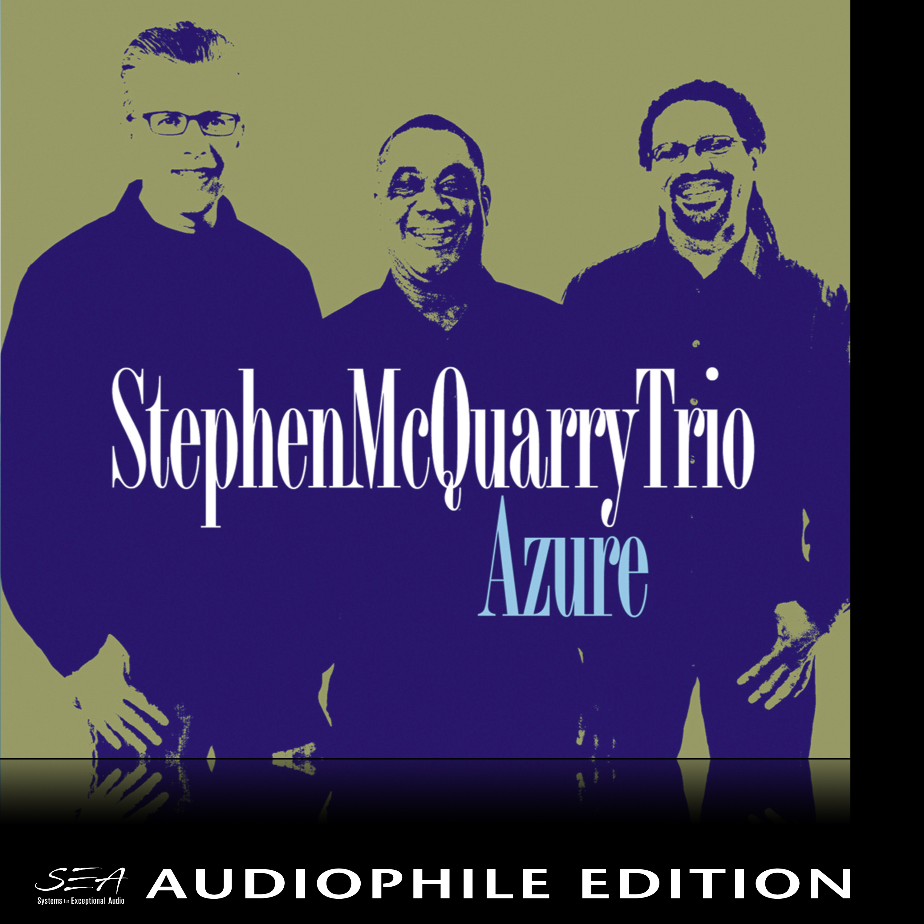 Stephen McQuarry Trio - Azure - Cover Image