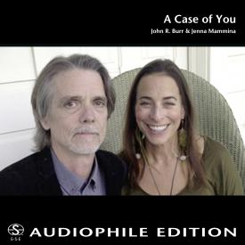 John R. Burr & Jenna Mammina - A Case of You (Single) - Cover Image