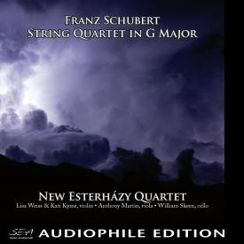 New Esterhazy Quartet - Franz Schubert - String Quartet in G Major - Cover Image