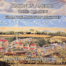 New Esterhazy Quartet - Haydn in America - Cover Image