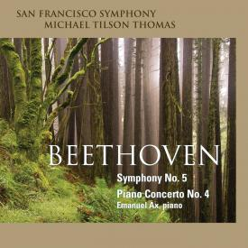 San Francisco Symphony - Beethoven Symphony No. 5 - Cover Image