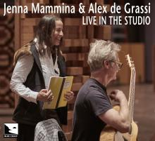 Jenna Mammina & Alex de Grassi - Live in the Studio - Cover