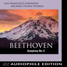 San Francisco Symphony - Beethoven 9 - Cover Image